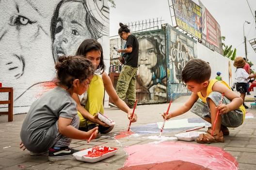 Ocupa Tu Barrio: Fama Inka Street. Image © Arturo Diaz Quiroz