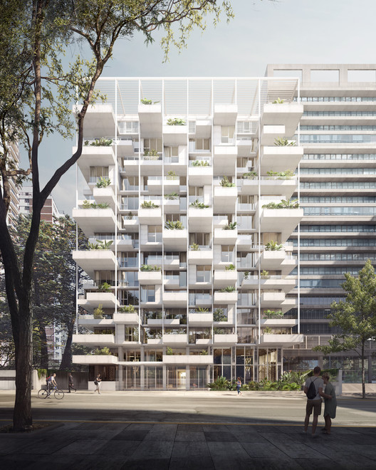 Edificio ZETA en Buenos Aires, diseñado por ODA. Image Cortesía de ODA
