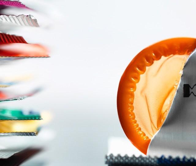 Different Colored Condoms