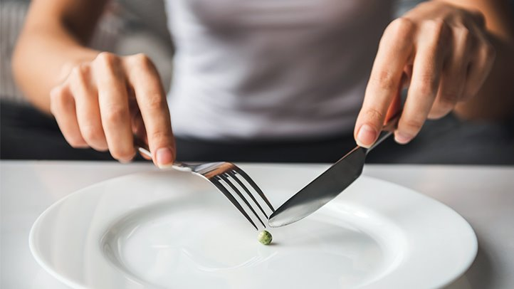 Image result for eating too little calories