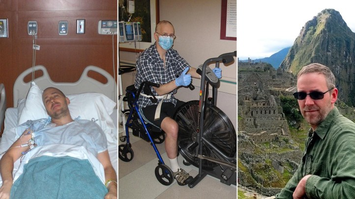 Dave Bexfield participated in phase 2 of HALT-MS and saw dramatic improvements in his MS symptoms.