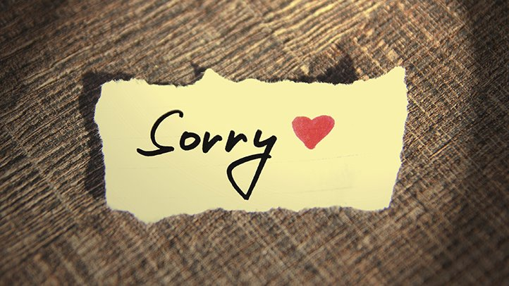 saying sorry can have some serious health benefits