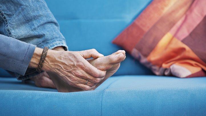 Rheumatoid Arthritis: How to Relieve Foot Pain   Everyday ...