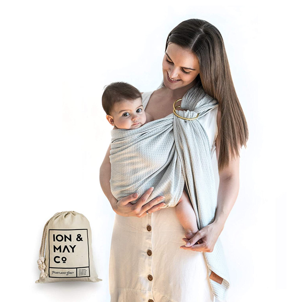 Ring Slings - Ion and May Baby Wrap Carrier Ring Sling