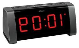 Timex Jumbo Display Am Fm Clock Radio