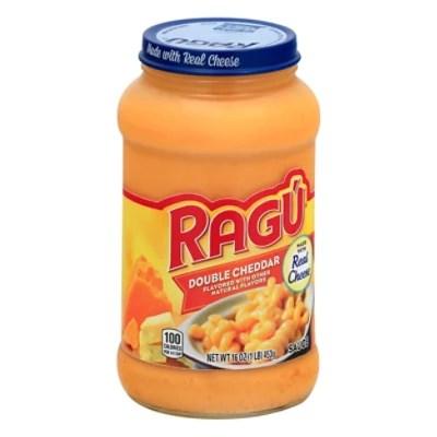 ragu cheese creations pasta sauce double cheddar jar 16 oz