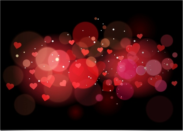 Red Heart Background Free Vector Download 52589 Free