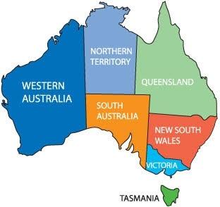 Australia Map Free Vector In Encapsulated PostScript Eps Eps Vector Illustration Graphic