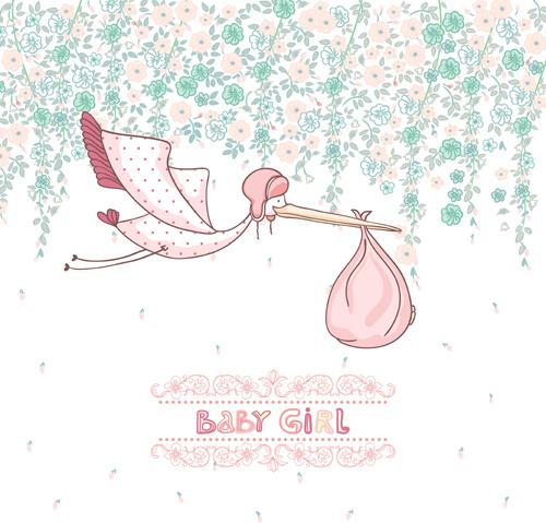 Baby Girl Vector Free Vector Download 4477 Free Vector