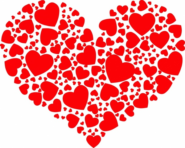 Heart Shape Vector Free Vector Download 12193 Free