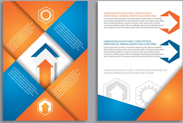 Brochure Background Design Free Vector Download 49462