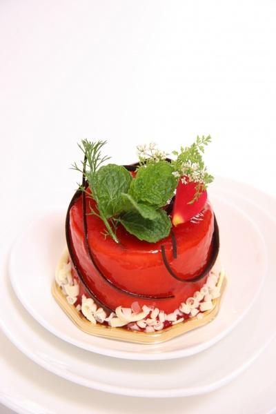 cake rose dessert