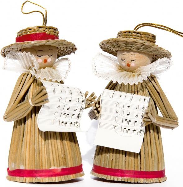 carol singers decoration singers