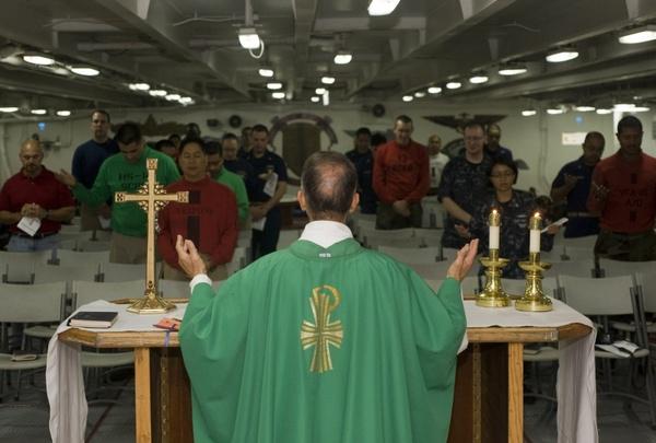 church ship priest
