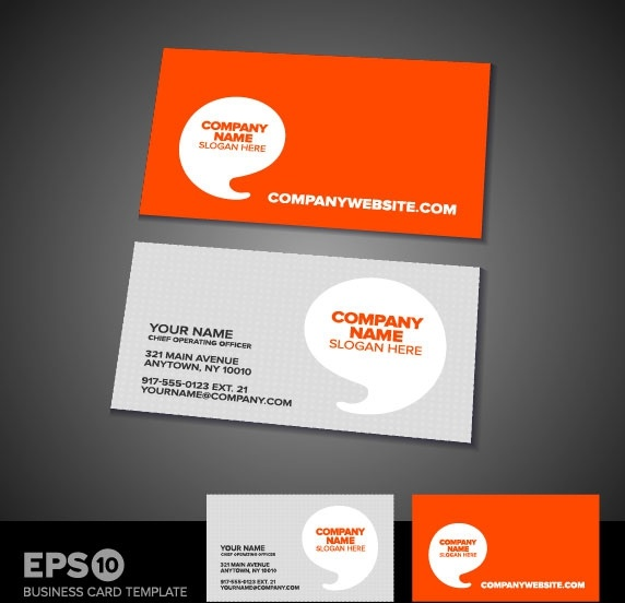 Business Card Design Cdr Format Free Vector Download