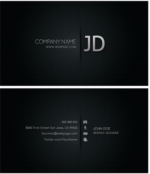 Cool business card templates psd layered Free psd in Photoshop psd     cool business card templates psd layered