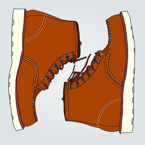 Code Shoe Girl Background