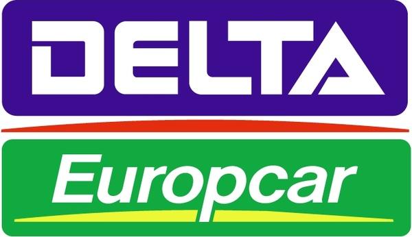 Delta Europcar Free Vector In Encapsulated PostScript Eps