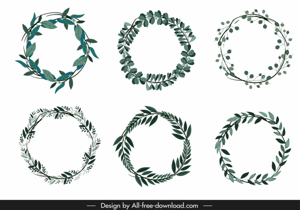 wreath template free # 9