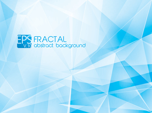 Fractal Abstract Background Vector Free Vector In