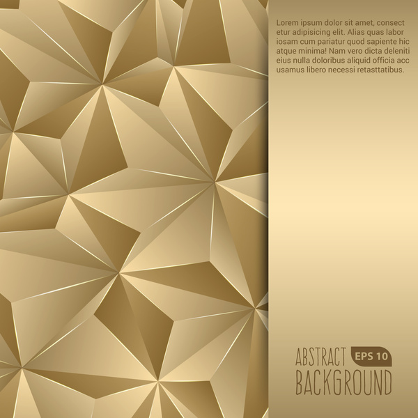 Gold Abstract Free Vector Download 15619 Free Vector