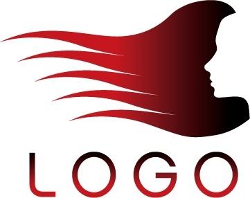 Hair Salon Logo Template Vector Free Vector In