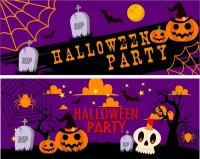 halloween party banner images