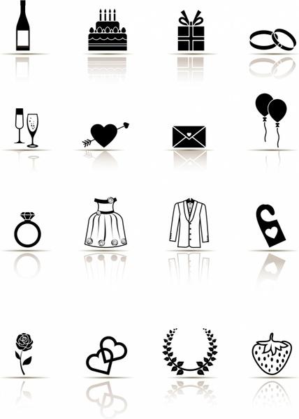 free wedding icons # 29