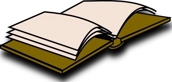 Open Book Icon clip art