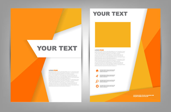 Brochure Cover Design Free Vector Download 6164 Free