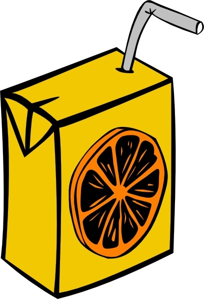 Orange Juice Box Clip Art Free Vector In Open Office