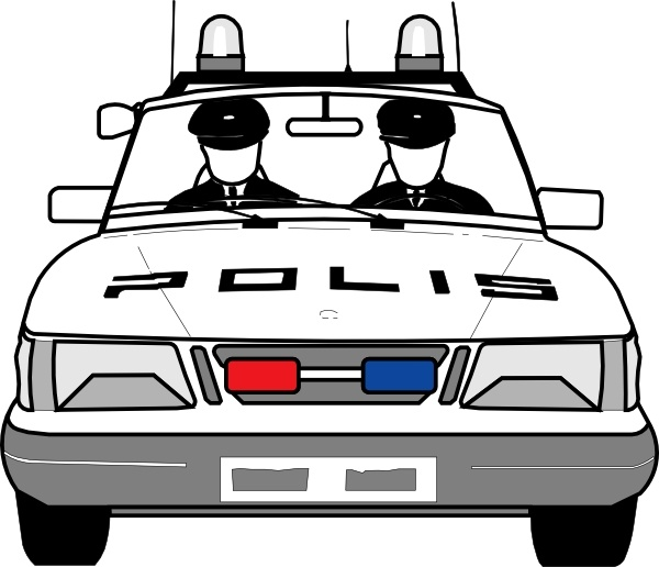 Police Car Clip Art Free Vector In Open Office Drawing Svg Svg Vector Illustration Graphic Art Design Format Format For Free Download 101 95kb