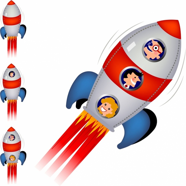 Rocket free vector download (150 Free vector) for ...