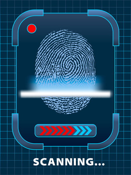Biometrics, Fingerprinting, Eye Scanning