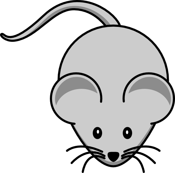 Simple Cartoon Mouse Clip Art Free Vector In Open Office