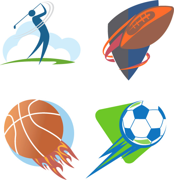 Sports Logo Free Vector Download 69946 Free Vector For
