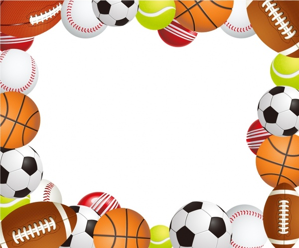 971271e0b978 Sports Ball Frame Free Vector In Adobe Ilrator Ai Format