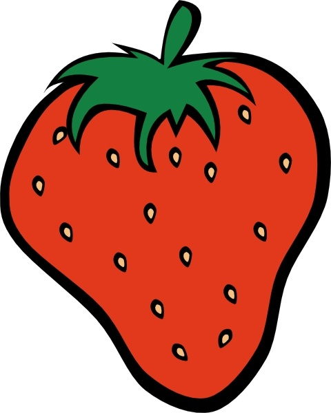 Strawberry Clip Art Free Vector In Open Office Drawing Svg