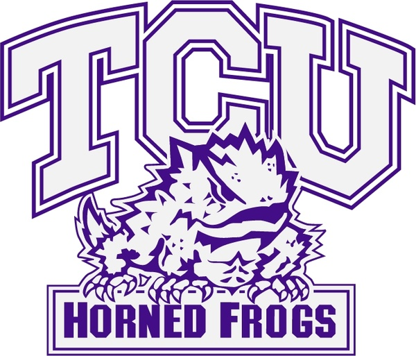 Frogs Tcu Graphic Horned