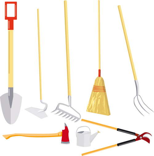 Garden Tools Vector Free Vector Download 2439 Free Vector For Commercial Use Format Ai Eps