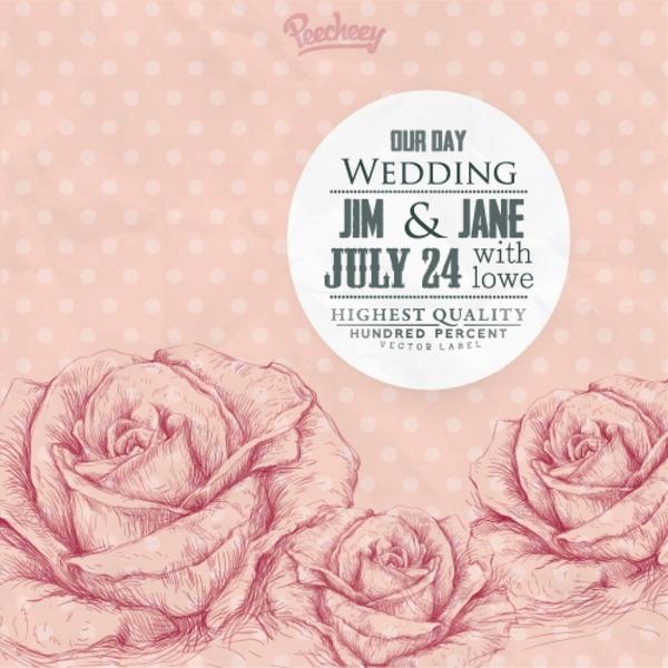 Vine Wedding Invitation