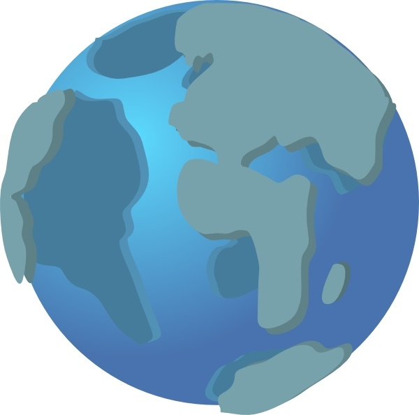 Free vector Vector clip art World Wide Web Globe Earth Icon clip art