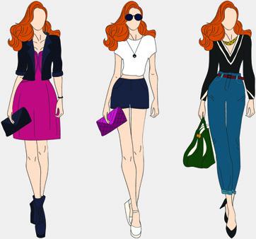 Image result for fashion clip art