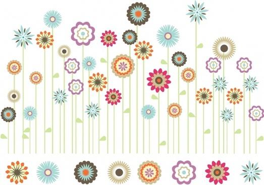 Flower Garden Free Vector Download (10,552 Free Vector