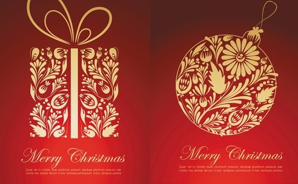 Christmas Card Vector Free Vector Download 17636 Free