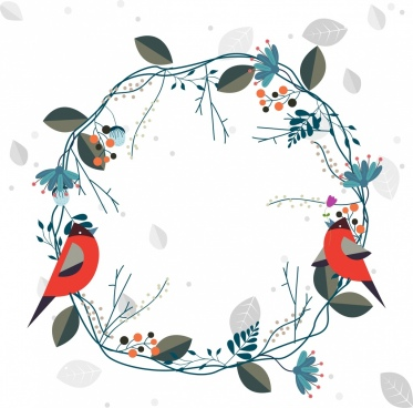 wreath template free svg # 41