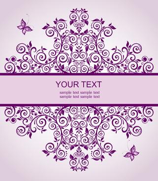 invitation card free vector download