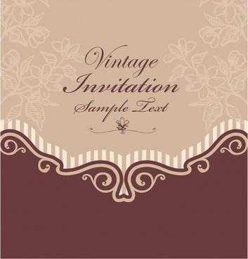 invitation card background color free