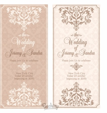 Hindu Wedding Invitation Ecards Free Vector 3 604
