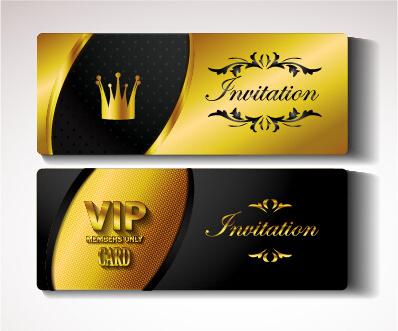 vip invitation free vector download 2